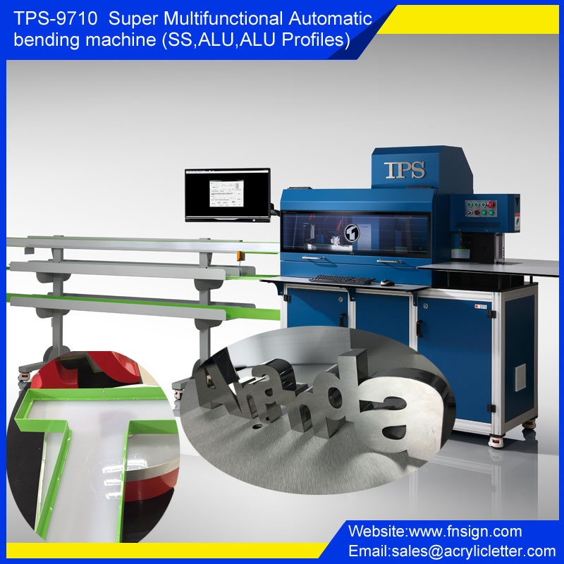 TPS-S9710 Super Multifunctional Automatic bending machine