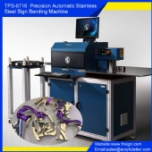 TPS-S8700 Precision Automatic Stainless Steel Sign Bending Machine